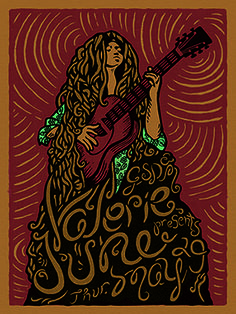 Gig poster I did for Valerie June in 2014 when she played at GSD&M Locs, Cool Art, Eye Candy, Natural Hair Styles, Disney Characters, Fictional Characters, Aurora Sleeping Beauty, June, Disney Princess
