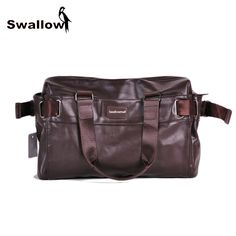Coffee Pawaca Mens Shoulder Bag Casual Multifunctional Satchel Various Pockets Durable Portable Canvas Crossbody Bag Messeger Bag for Men Daily School Office Traveling Using Best Gifts