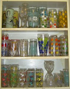 Why I'm not allowed to buy any more vintage glasses ... | Flickr - Photo Sharing!