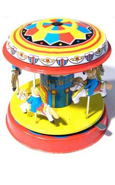 Five Pony Carrousel