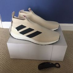 2576f37b34 Adidas and Nike shoes · Adidas Ace 16+ Purecontrol Ultra Boost Champagne  BY909