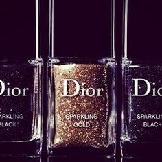 Dior nail polish glitter collection