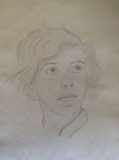 Portrait. Pencil. Different Media, Create Image, Pencil, Portrait, Art, Craft Art, Headshot Photography, Kunst, Gcse Art