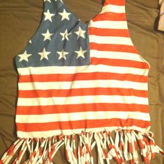 My DIY fourth of July shirt!