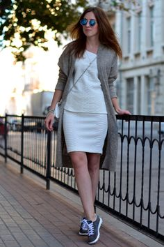 Skirts and Sneakers are a Trend—Here's How to Master it | StyleCaster