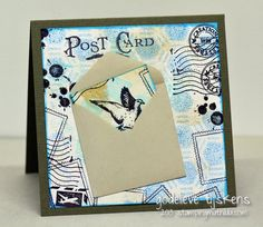 StampingMathilda: Mini Envelope on a Card