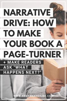 Drive: How to Write a Page-Turning Novel Narrative Drive: How to Write a Page-Turning Novel Creative Writing Tips, Book Writing Tips, Writing Words, Writing Process, Fiction Writing, Writing Resources, Writing Help, Writing Skills, Quotes About Writing