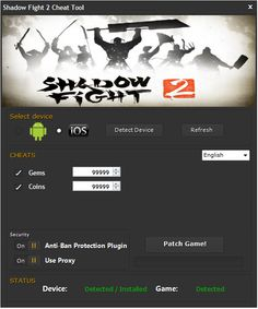 "Shadow Fight 2 Hack Cheats Tool This Shadow Fight 2 Hack will help you generate unlimited Coins and Gems   Shadow Fight 2 Hack Cheat is our newest ""modhacks.com"" fresh from the oven. We worked hard on this one because,being a multi-platform Exploit it can be very difficult to write. After we tested this Shadow Fight … Continue reading Shadow Fight 2 Hack Cheats"