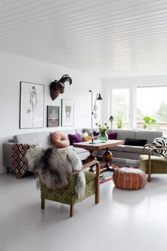 BoHo Home: Scandi boho home puts the kibosh on black, white