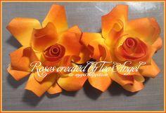 One Scrap at a Time: Cricut Flower Shoppe Roses Tutorial