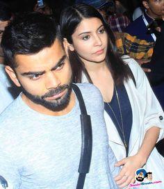 Virat and Anushka Spotted at Mumbai Airport -- Virat Kohli and Anushka Sharma Picture # 301727