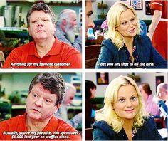 JJ's Diner #ParksandRec --- hahaha leslie and her waffles