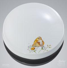 Urnen Individuell gestaltet | Sonderanfertigung Schmettelinge Porzellan Cremation Urns, Plates, Tableware, Urn, Custom Cars, Licence Plates, Dishes, Dinnerware, Plate