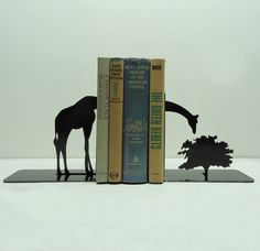 Decor Spotting: Modern Safari Style Giraffe Bookends