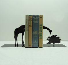 Decor Spotting: Modern Safari Style Giraffe Bookends