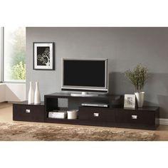 Asymmetrical TV Stand - Unique Modern Furniture - Dot & Bo