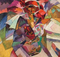 Аристарх Лентулов. Портрет М.П. Лентуловой с розами. 1913. Jack of diamonds  Jack of Diamonds was a group of avant-garde artists founded in 1910 in Moscow. Their works demonstrate the artists' interest in the developing of the new styles (Russian Primitivism, Russian Cezanneism, Moscow School of Neo-Primitivism, oth.) that emerged around their first exhibition as a result of their integrating folk art of the provinces in the artworks. Dom Naschokina Art Gallery 2012