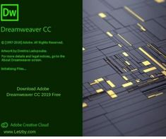 Download Adobe Dreamweaver CC 2019 Free is  Powerful designing software It is make available a reliable solution for creating responsive websites for different screen sizes with a powerful WYSIWYG HTML editor and live preview. Web Development Tutorial, Adobe Dreamweaver, Screen Size, Software, Live