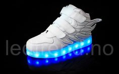 Hot Sale Kids Sneakers Children's Angel Wings USB Charging Luminous LED Lights Shoes For kids Casual Flat Girls Boy sports Shoes Wing Shoes, Light Up Shoes, Usb, Childrens Shoes, Kids Sneakers, Toddler Shoes, Baby Girl Fashion, Sports Shoes, European Fashion