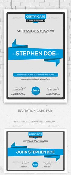 Certificate Template Vintage  Ai Illustrator Vintage And Stationery