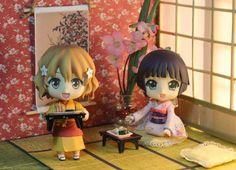 """Nendoroid Ohana Matsumae at Kissuisou"" photo figure by Sheng Gonzales"
