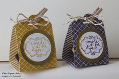 Januar 25, 2014 Fine Paper Arts: Verpackung Kleine Goldstücke Ferrero Rocher treat holder Creative Homemade (Sweetly Framed), Scallop Tag Topper Punch, Regals dsp Stack