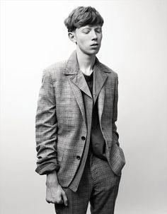 King Krule shot by Willy Vanderperre in the latest issue of AnOther Man magazine.