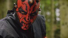 Watch Darth Maul fight six Jedi in this impressive Star Wars fan...