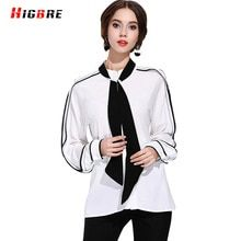dd5fca116f HIGBRE Women Sexy White Long Sleeve Shirt Women Blouses Office Shirts Plus  Size Fashion Women Casual Loose Blouses 2017 Summer   Price   US  0.00    FREE ...