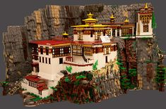 Tiger's Nest Monastery, Paro Taktsang by Anu Pehrson on Flickr