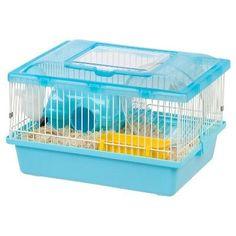 Iris Small Animal Habitat Cage - Blue