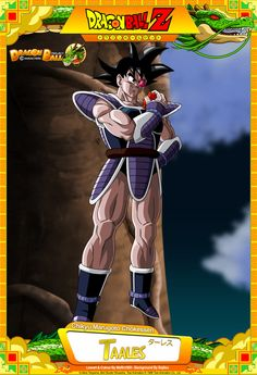 Dragon Ball Z - Taales Lineart and colour by maffo1989 Background By Bejitsu  Card Design By Tekilazo300, Raykugen,maffo1989,orco05 & dbkaifan2009