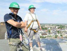 Les visites surprises de l'office de tourisme de Châteauroux ont emmené les visiteurs à l'assaut des châteaux d'eau ! Source nr36