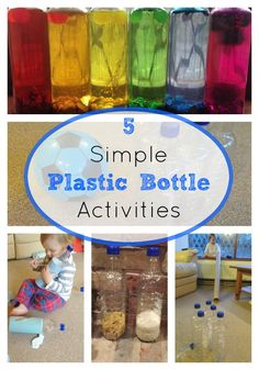 We always have extra plastic bottles! What a great way to give them another purpose!
