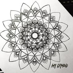 Progress.... #mandala #sketch #pigma #doodle #inkart #mixedmedia #art #artismytherapist #zen #draw #zentangle #henna #doodleadaymarch #staedler #fineliner