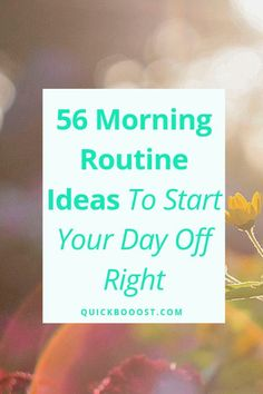 Use these morning routine ideas to start your day off on the right foot. Utilize them to be more productive, enhance your time management, and achieve your goals! Time Management Activities, Time Management Printable, Time Management Quotes, Management Books, Time Management Skills, Productive Things To Do, Things To Do At Home, Things To Do When Bored, Getting Things Done