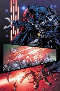 Superman-Batman 79 Lines by Jesus Merino, Color by BlondTheColorist Batman Artwork, Batman Comic Art, Batman Comics, Batman And Superman, Iron Batman, Batman Redesign, Hq Dc, Arte Dc Comics, Western Comics
