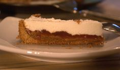 Salted Caramel and Guava Pie