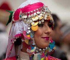 Beautiful lady in folk costume. Hippie Chic, Ankara, Turkey Images, Turkish People, Ankle Jewelry, Turkish Beauty, Folk Dance, Iconic Photos, Stylish Girl Pic