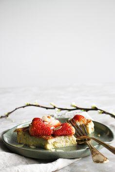 glutenvrije en suikervrije pannenkoek uit de oven