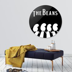 Discover «The Beans», Limited Edition Disk Print by Giuseppe Meduri - From $65…