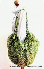 Furoshiki: ecco la prima borsa con il rettangolo