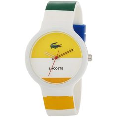 Lacoste yellow watch