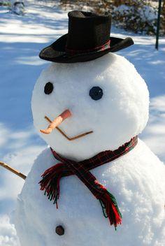 Faire des bonhommes de neige#powerpatate #optimisme