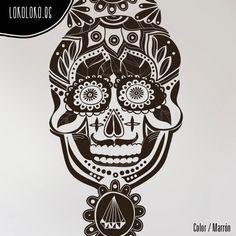Detalle de la #calaveramexicana / #Mexicanskull detail