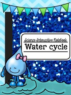 The Water Cycle Activities Interactive Notebook Middle School Science, Elementary Science, Science Classroom, Science Fun, Science Ideas, Physical Science, Teaching Science, Earth Science, Science Experiments