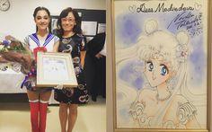 "Crunchyroll - Russian Figure Skater Meets Naoko Takeuchi After ""Sailor Moon"" Inspired Routine"