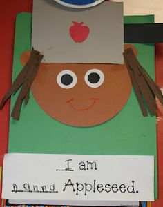 Johnny Appleseed Activity