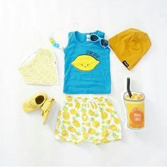 Who is feeling that long weekend vibe? 😎  #weekendvibes #summer #flatlay #mellowyellow