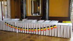 Belgium's National day celebration at Hôtel des Trois Couronnes Banquet, Restaurant, Events, Candles, Home, Lake Geneva, Ad Home, Restaurants, Candy